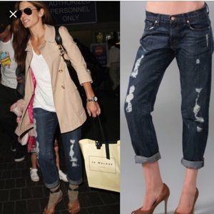 J Brand distressed Camille boyfriend jeans 30